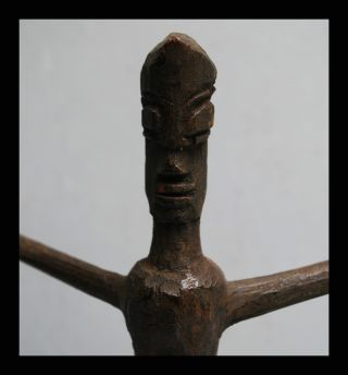 An Angular Lobi Thil Figure To Ward Off Misfortune,  From Burkina Faso photo