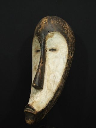 African Tribal Fang Ngil Mask photo