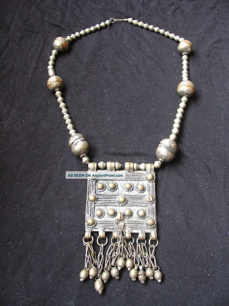 Old African Ethiopian Handmade Ethnic Oromo Necklace Other photo
