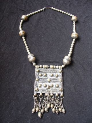 Old African Ethiopian Handmade Ethnic Oromo Necklace photo