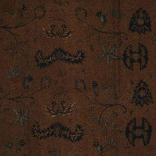 Indonesia Hand Drawn Batik Tulis Fabric Textile Clothes Wax Dye Sogan Jawa Bz99 photo