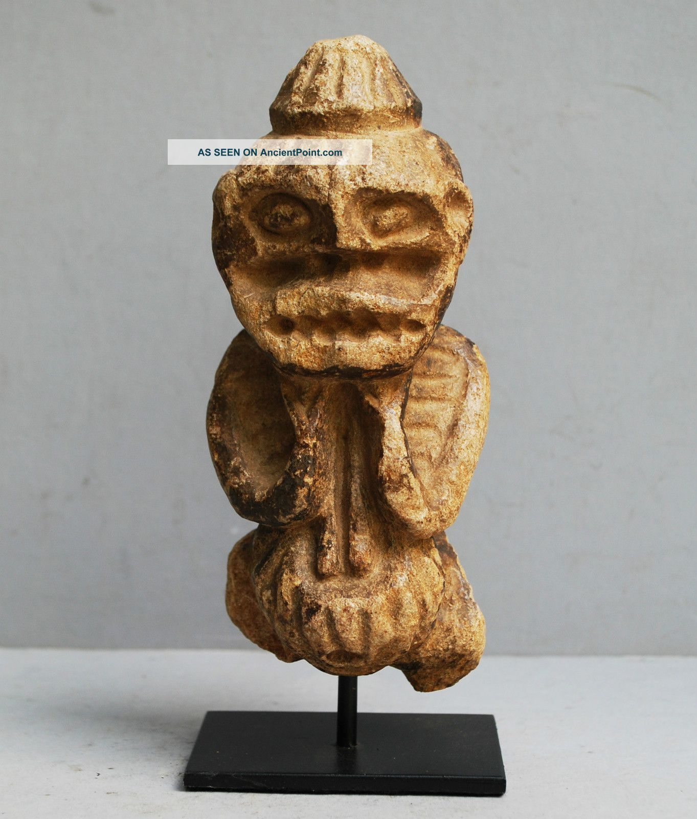 A Stone Mambila Altar Figure From Cameroon Other photo