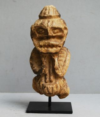 A Stone Mambila Altar Figure From Cameroon photo