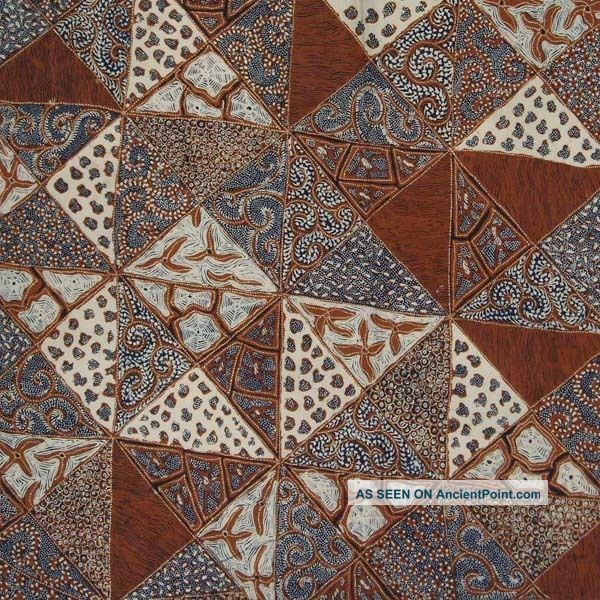 Indonesie Batik Tulis Fabric Textile Cloth Tambal Bz14 Pacific Islands & Oceania photo
