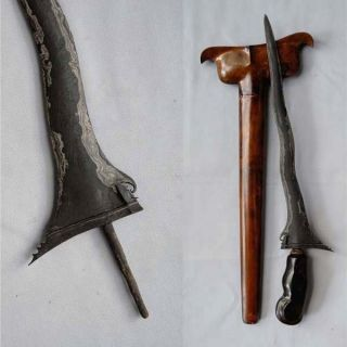 Old Keris Pandawa Lare 5 Luk Kriss Kris,  Rl74 photo