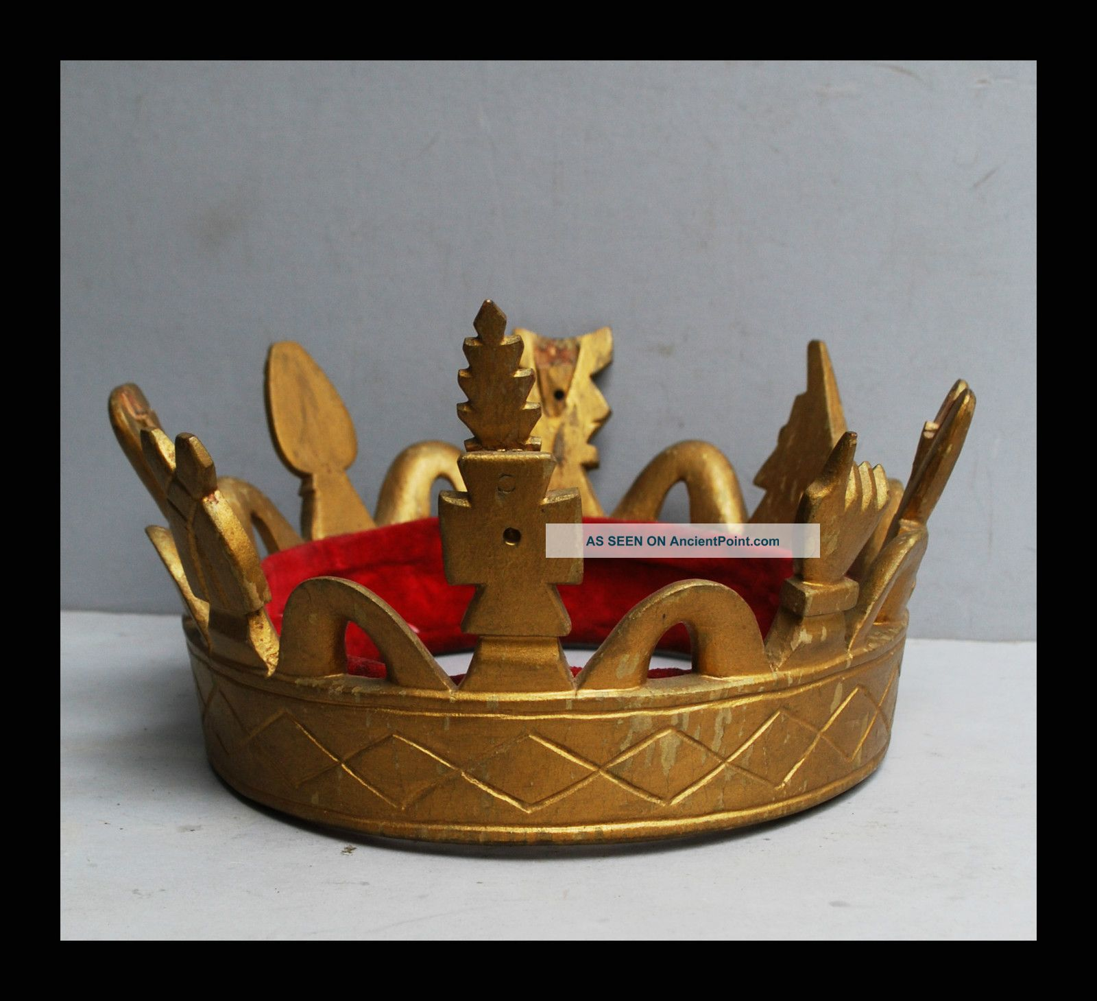 A Chiefs Gold Crown From The Ashanti Tribe Of Ghana Other photo