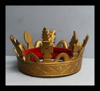 A Chiefs Gold Crown From The Ashanti Tribe Of Ghana photo