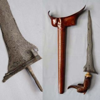 Old Keris Sempana Kalentang 9 Luk Kriss Kris,  Rl73 photo