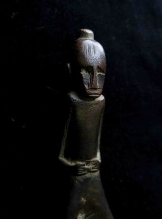 An Old Toraja Spoon Mid 20th Century Sulawesi (nias Batak Dayak) photo
