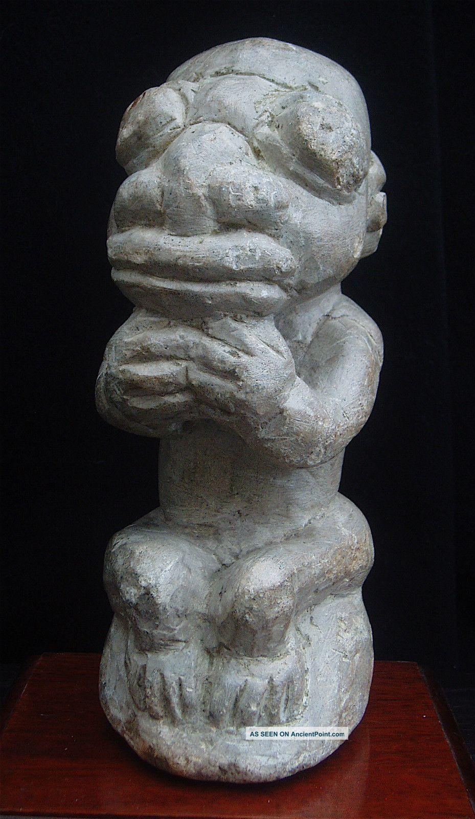 Old Carved Steatite Nomoli Figure Fron Sierra Leone Other photo