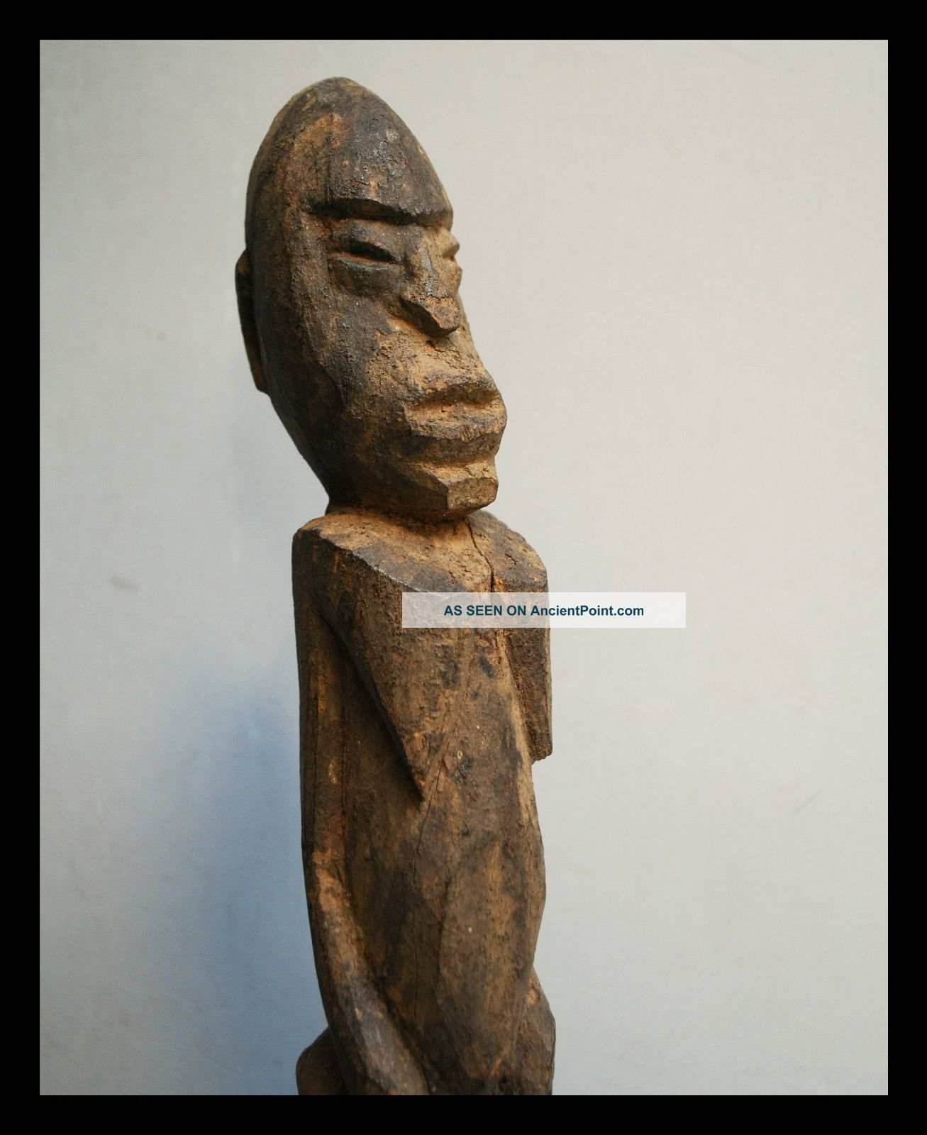 An Encrusted Thil Figure From The Lobi Tribe Of Burkina Faso Other photo