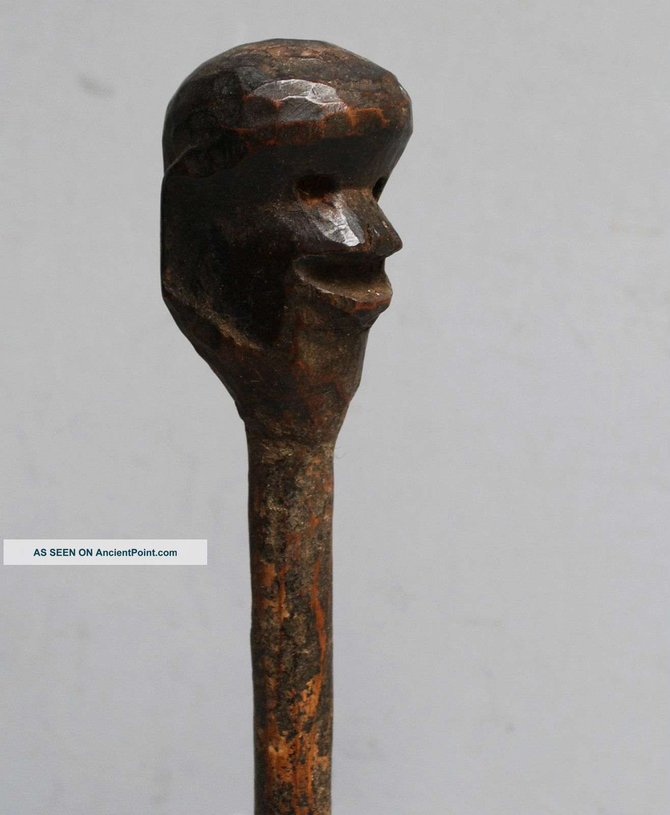 A Figurative Medicine Gourd Stopper From Nyamwesi Tribe Of Tanzania Other photo
