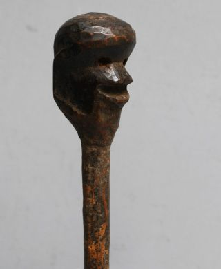 A Figurative Medicine Gourd Stopper From Nyamwesi Tribe Of Tanzania photo