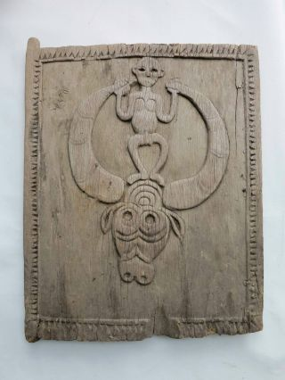Antique Toraja Door Sulawesi Early To Mid 20th Century (batak Dayak Nias) photo