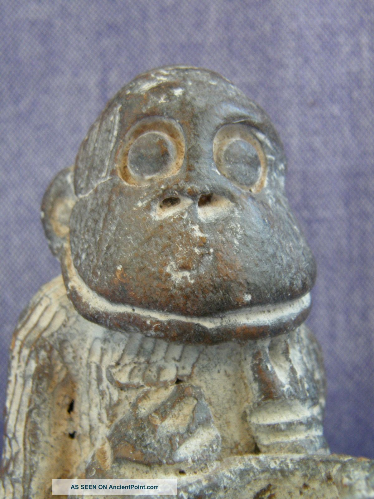 African Tikar Clay Monkey Figure From Cameroon Other photo