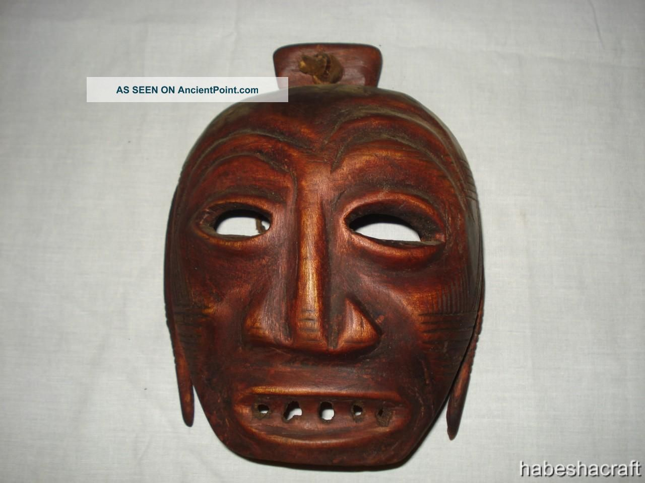 Old African Mask,  From The Omo Valley Of Ethiopia,  African Tribal Art Other photo