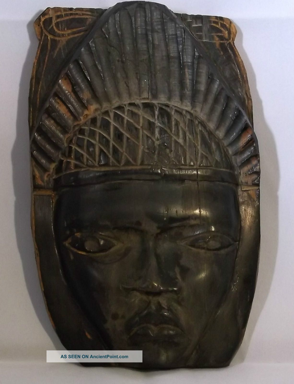 Wooden Nigerian Mask Masks photo