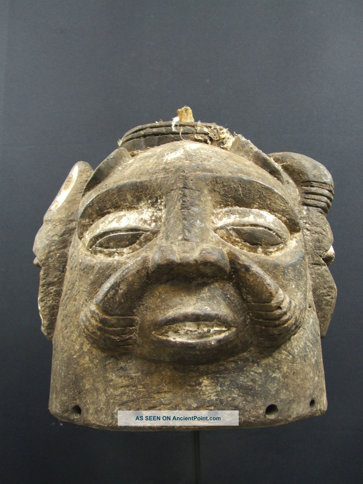 African Tribal Nigerian Helmet Mask Other photo