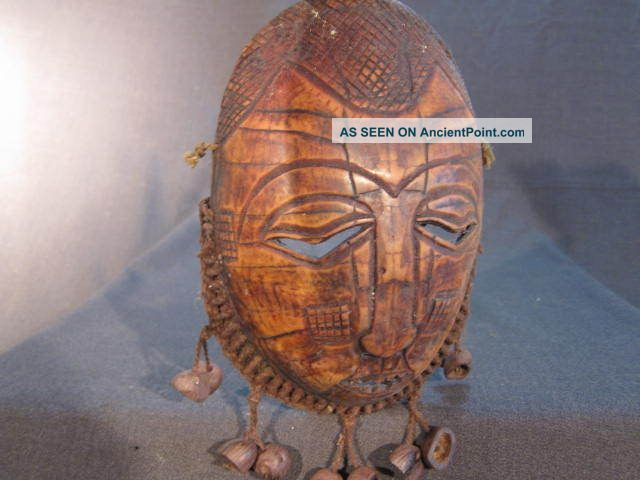 Africa_congo: Lega Mask 15 African Tribal Art Other photo