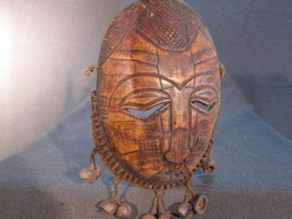 Africa_congo: Lega Mask 15 African Tribal Art photo