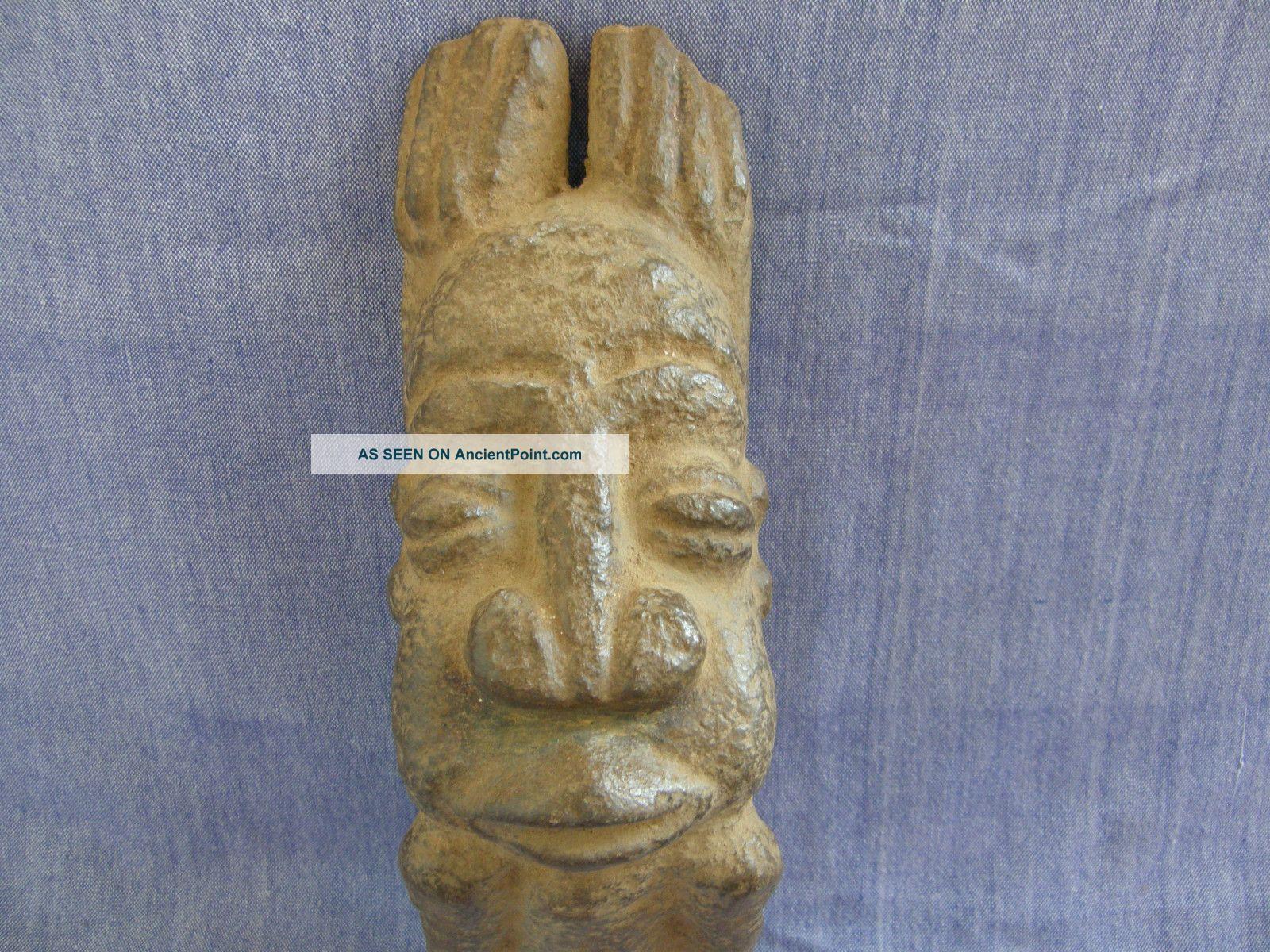 Old Limestone Dogon Carved Tellem Figure Other photo