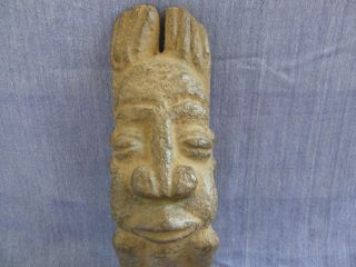Old Limestone Dogon Carved Tellem Figure photo