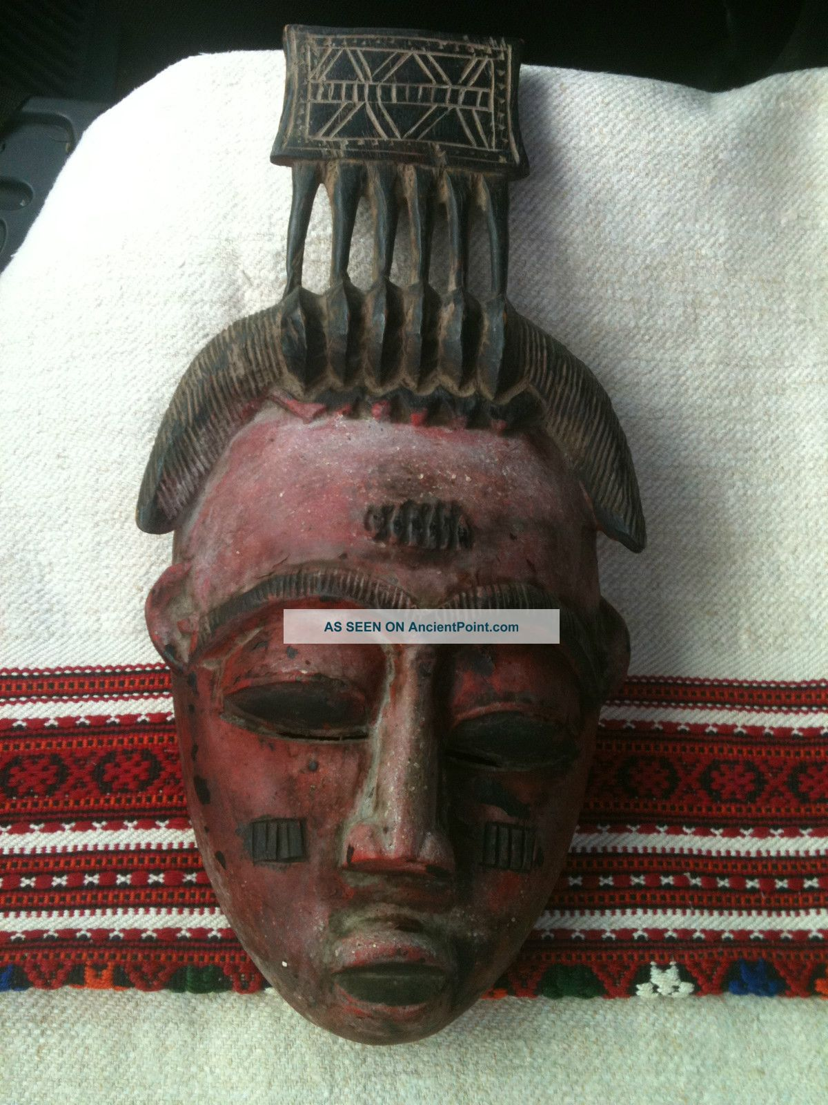 Mask From The Pacific Tribes Masks photo