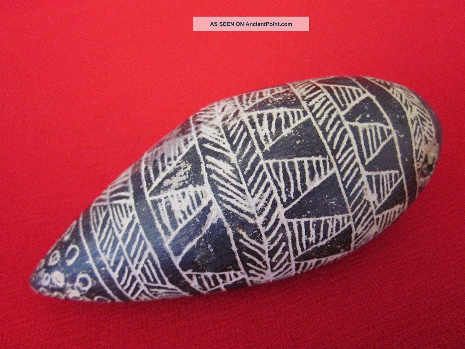 Rare Vintage Papua New Guinea Clay Ocarina (morimuge),  Whistle Pacific Islands & Oceania photo