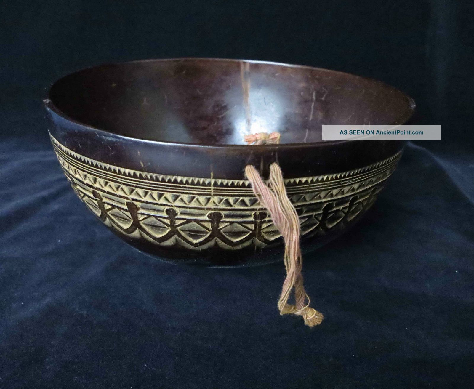Old Moluccas Bowl Early To Mid 20th Century - - (borneo Nias Batak Tanambar Leti) Pacific Islands & Oceania photo