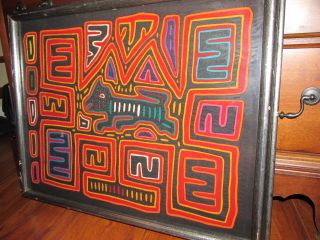 Mola San Blas Island Panama Kuna Folk Art photo