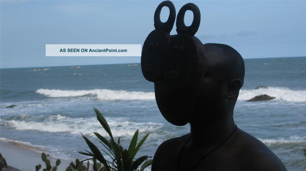 African Tribal Collection - Twin Baule Goli Mask,  Cote D ' Ivoire Dan Other photo