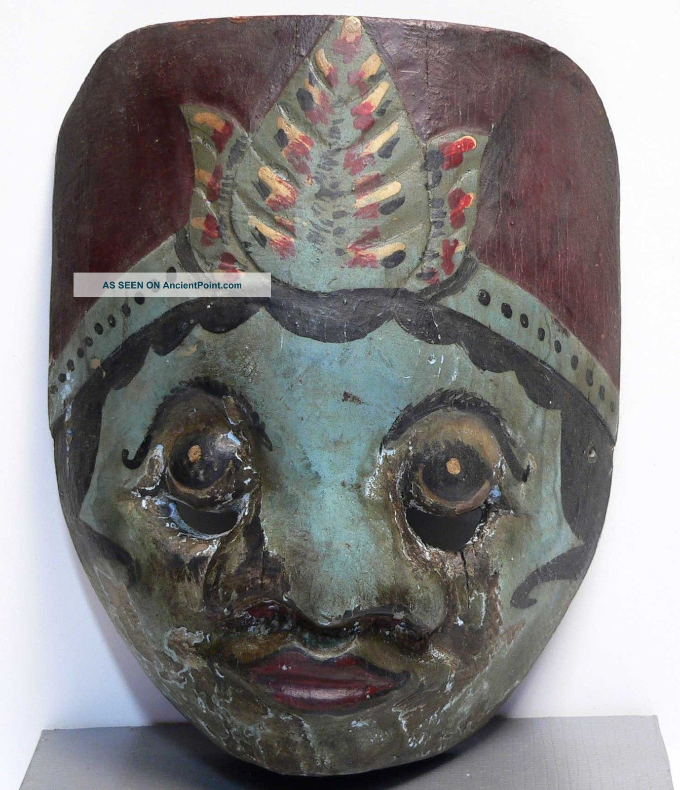 Old Wayang Mask Topeng Wajang Keris Tribe Art Indonesia Pacific Islands & Oceania photo