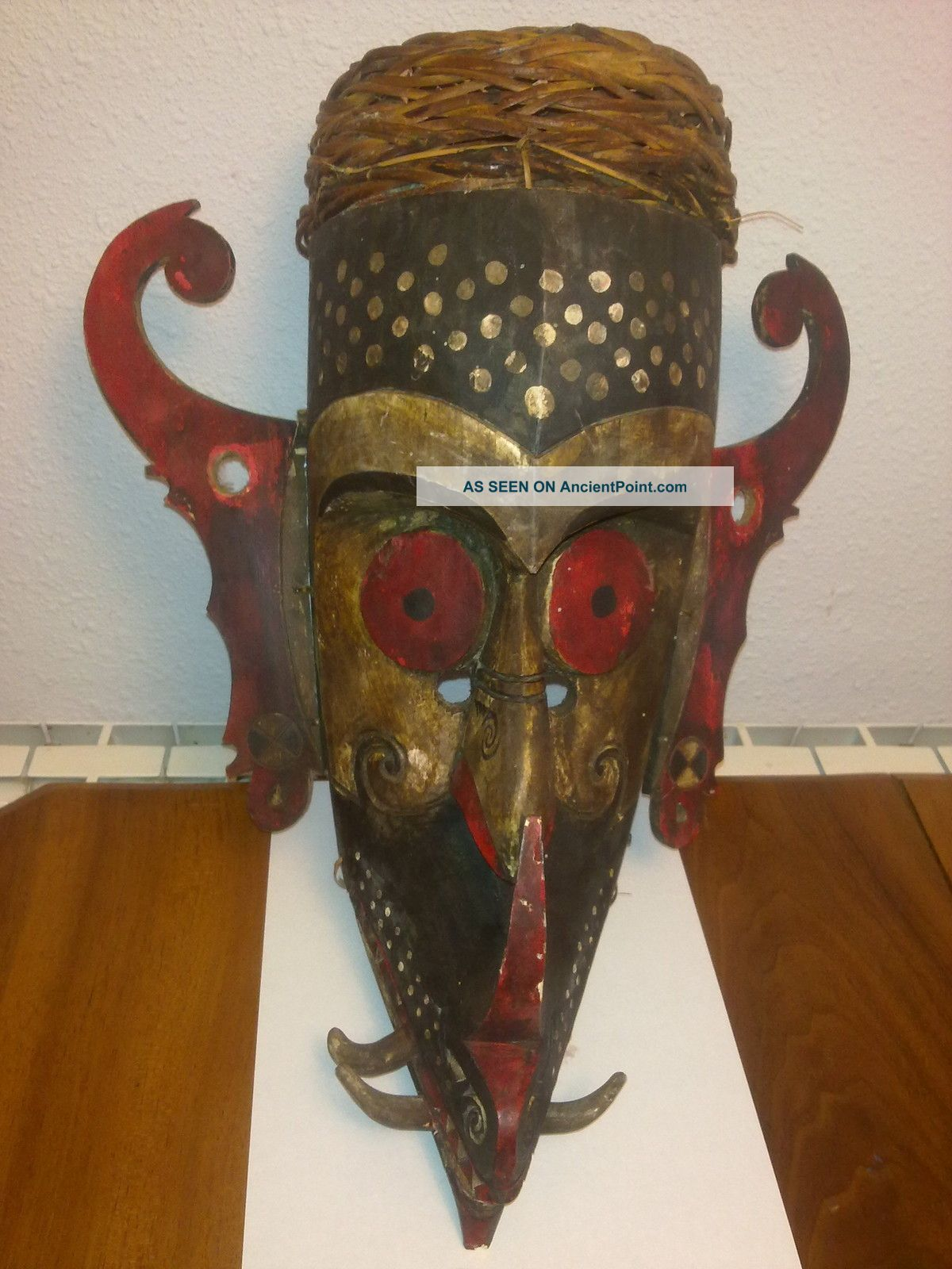 And Rare Big Mask Borneo - Ind Pacific Islands & Oceania photo