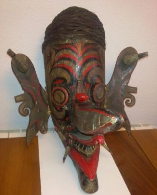 And Rare Big Mask Borneo - Ind photo
