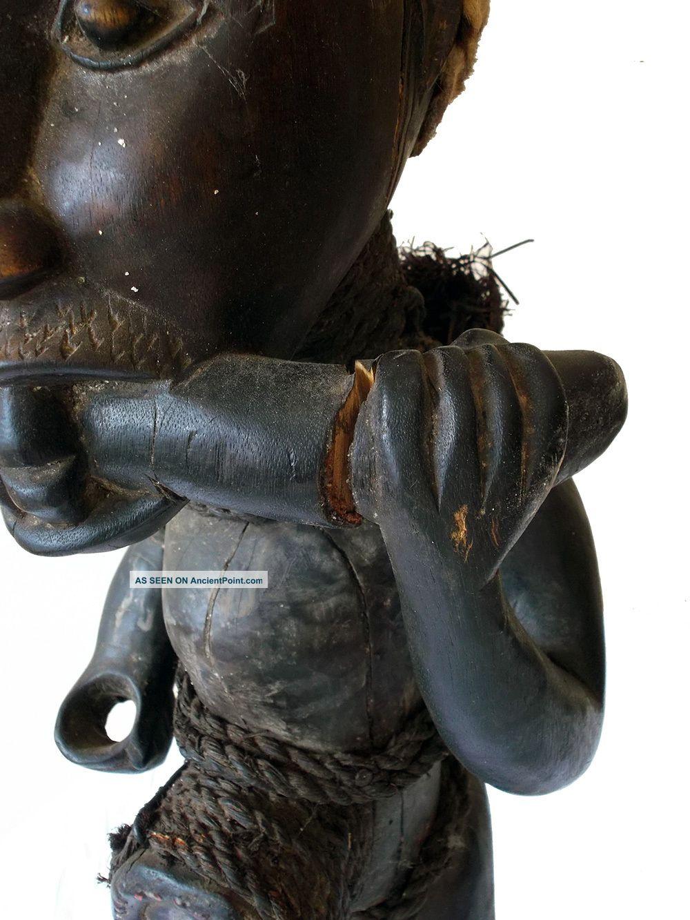 Kongo Tribe Nkisi Figure Zaire Congo Ritual Tribal Fetish Sculptures & Statues photo