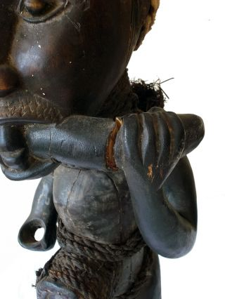 Kongo Tribe Nkisi Figure Zaire Congo Ritual Tribal Fetish photo
