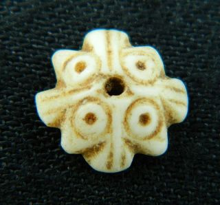 Ancient Marine Shell Bead - 200 Years Old - Sahara photo