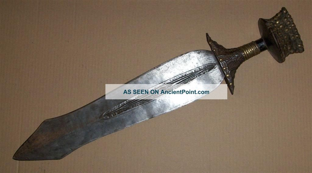 Congo Old African Knife Ancien Couteau D ' Afrique Konda Afrika Kongo Africa Sword Other photo
