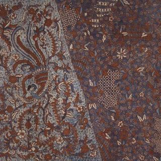 Mid Old Indonesian Kain Batik Tulis Hand Drawn Fabric Textile Cloth Jawa Bz12 photo