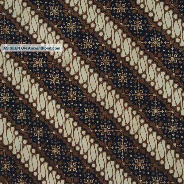 Indonesia Hand Combination Batik Fabric Textile Clothes Wax Dye Kain Jawa Bx66 Pacific Islands & Oceania photo