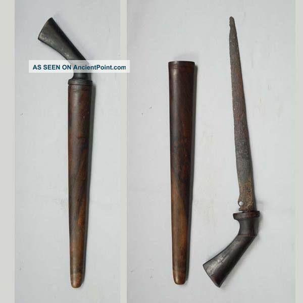 Old Knife Blade Piso Sewar Lading Patrem Keris Art Ri62 Pacific Islands & Oceania photo
