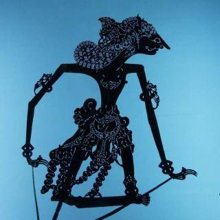 Wayang Kulit Indonesia Schattenspielfigur Marionette Shadow Puppet Gift Cq82 photo
