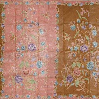 Dutch Batik Belanda Fabric Textile Cloth Wax Dye North Coast Sarung Sarong Bx26 photo