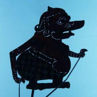 Indonesia Javanese Wayang Kulit Shadow Puppet Art Ct04 photo