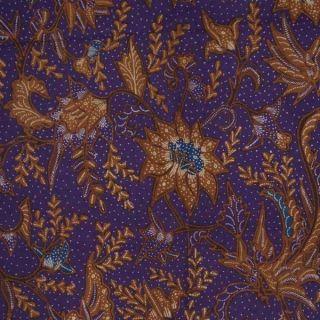Indonesie Hand Drawn Batik Tulis Fabric Textile Cloth Wax Dye North Coast Bz36 photo