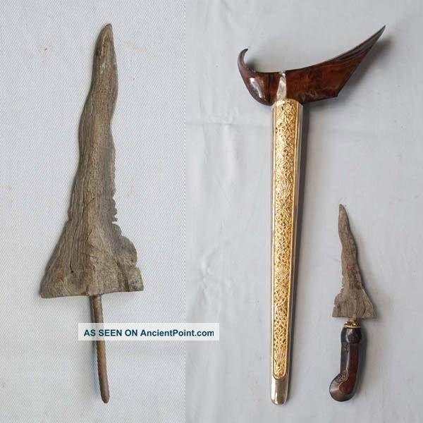 Renovated Keris Semar Figure Talisman Shaman Jawa Rh50 Pacific Islands & Oceania photo