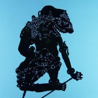 Marionette Javanese Wayang Kulit Shadow Puppet Art Ct08 photo