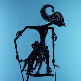 Wayang Kulit Javanese Schattenspielfigur Marionette Shadow Puppet Gift Cw15 photo
