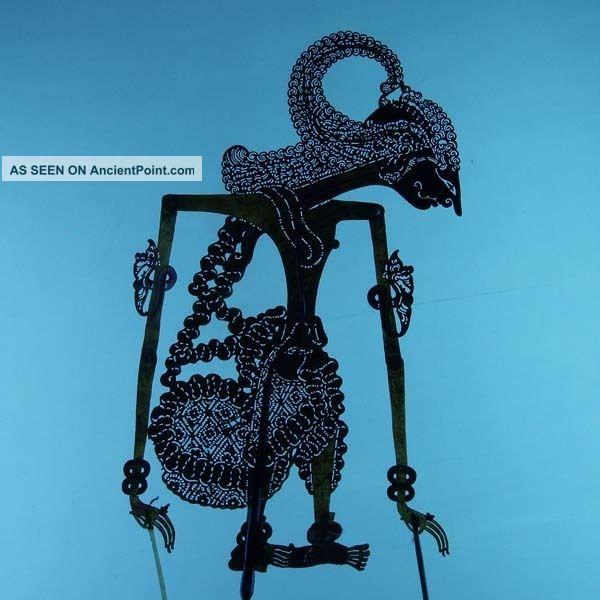 Wayang Kulit Indonesie Schattenspielfigur Marionette Shadow Puppet Gift Da18 Pacific Islands & Oceania photo