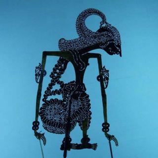 Wayang Kulit Indonesie Schattenspielfigur Marionette Shadow Puppet Gift Da18 photo